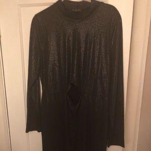 Body con keyhole dress, light weight